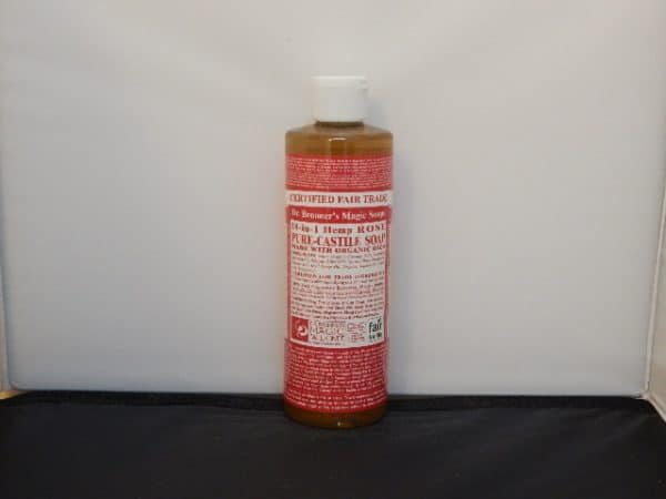 Dr. Bronners Soap Rose